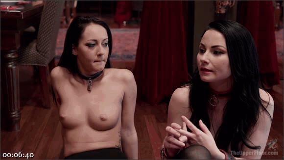 Karlo Karrera – Veruca James – Sabrina Banks – Twin Set of Raven Haired Slaves Service Brunch Guests_cover