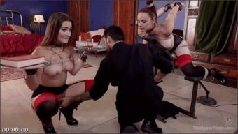 Dani Daniels – Tommy Pistol – Bella Rossi – Afternoon Delight: Twin Set of Sex Slaves Well Used