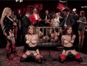 Penny Pax – Audrey Holiday – Aiden Starr – Aidra Fox – Goldie Glock – Marco Banderas – John Strong – Sexy Anal Slaves Serve Holiday Orgy