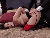 Bianca Breeze – Trillium – Xander Corvus – Exquisite Anal Whore & Butler Punish the New Meat