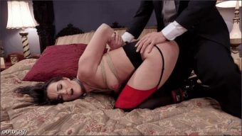 Bianca Breeze – Trillium – Xander Corvus – Exquisite Anal Whore & Butler Punish the New Meat