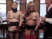 Roxanne Rae – Marco Banderas – Fallon West – Anal Sluts Serve Wild BDSM Brunch