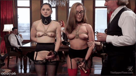 Roxanne Rae – Marco Banderas – Fallon West – Anal Sluts Serve Wild BDSM Brunch_cover