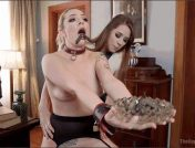 Dahlia Sky – Zoey Laine – Axel Aces – Tax Day: The Slave and The Bad Girl\'s Anal Punishment