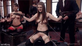 Nora Riley – Charlotte Cross – Seth Gamble – Innocent Girl Made Depraved Anal Slave