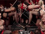 Aiden Starr – Lilith Luxe – Mona Wales – Mickey Mod – Marco Banderas – Bella Rossi – Kira Noir – A Slave Orgy Like No Other