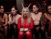 Aiden Starr – Amara Romani – John Strong – Sadie Santana – Ramon Nomar – Kasey Warner – Ember Stone – Anal Slaves Serve Kinky Costume Ball