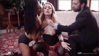 Tommy Pistol – Kira Noir – Dahlia Sky – Duties of a Submissive Anal Wife