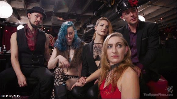 Aiden Starr – Kira Noir – Melissa Moore – Owen Gray – The Upper Floor Returns With a Squirting Slave Fuck Fest_cover