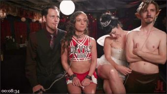 Penny Pax – Skylar Snow – Michael Vegas – Mona Wales – Squirting Slave Sluts Inspire A BDSM Halloween Orgy