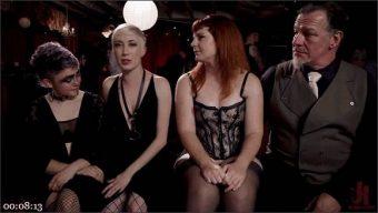 Aiden Starr – Donny Sins – Arabelle Raphael – Chloe Cherry – Teen Anal Slut Turned Out For Service at BDSM Swinger Soiree