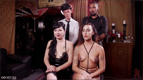 Nikki Darling – Donny Sins – Dee Williams – Well Trained Anal Sluts Service Folsom Orgy_cover