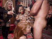 Aiden Starr – Kira Noir – Penny Pax – Ramon Nomar – BDSM Swinger Orgy Served by the Anal Servant Girls