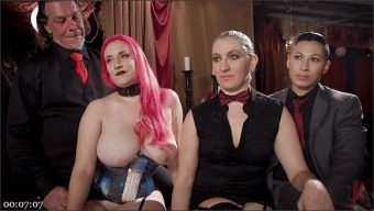 Aiden Starr – Rob Piper – Krissy Lynn – Avi Love – Teen Whore Trained in Anal Bondage By MILF Sex Servant
