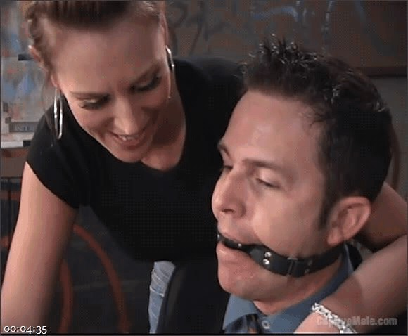Audrey Leigh – Dick Richards – FemDomme Audrey Leigh Gives Dick Richards Low Grades_cover