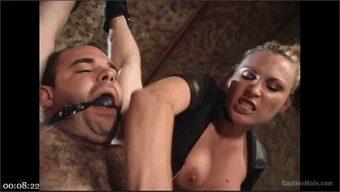 Harmony – Oscar Beyer – Harmony Evaluates Oscar Beyer with Brutal Cock Torment