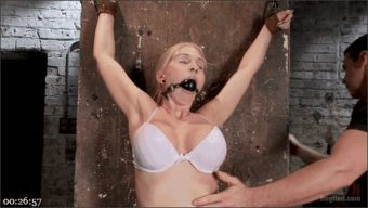 Christie Stevens – Curvy Big Tits Blonde Bombshell Bound and Molested