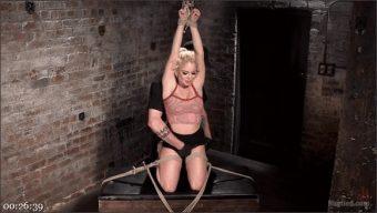 Nikki Delano – Blonde Bombshell Explodes in Extreme Bondage!!
