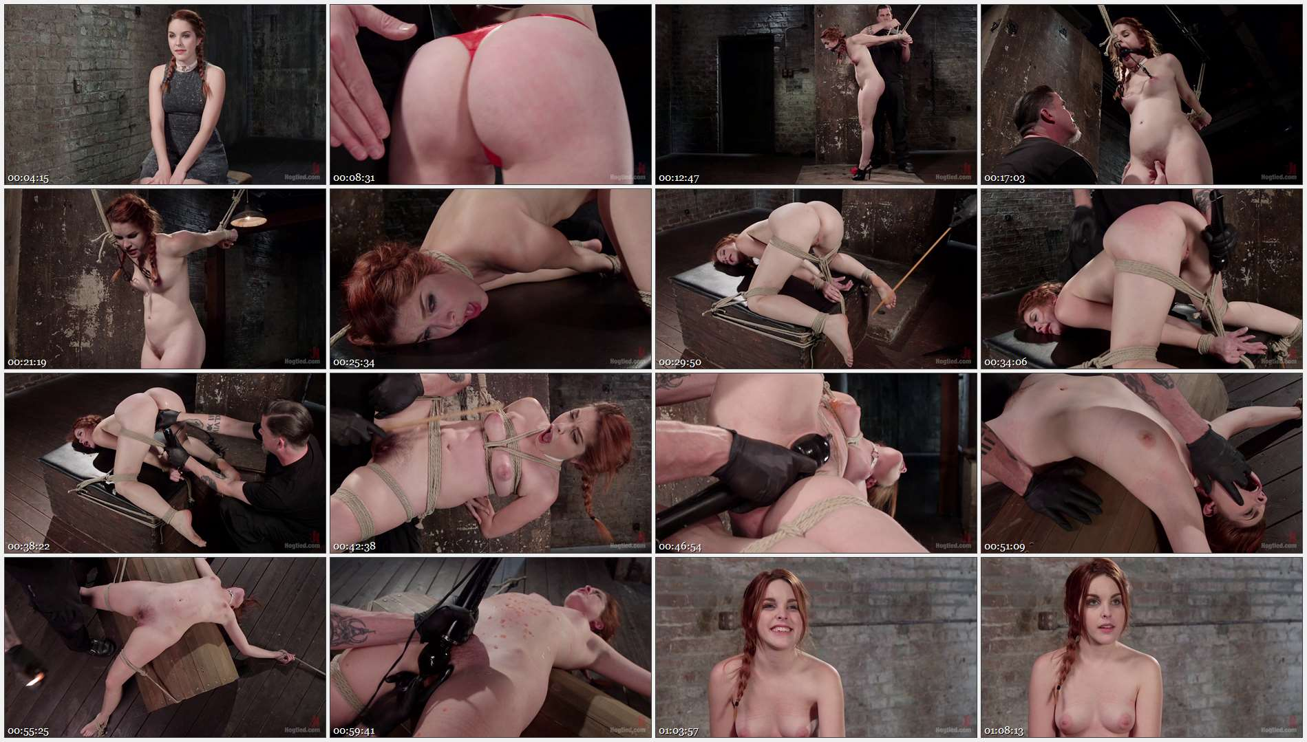 Amarna Miller – Sexy Spanish Slut Bound with Pain, Hot Wax and Orgasms!!!