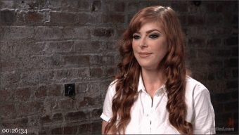 Penny Pax – The Pope – Red Headed Anal Queen is Helpless in Grueling Bondage