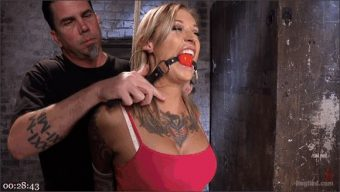 Kleio Valentien – The Pope – Stunning Tattooed Babe Made to Endure Torment in Brutal Bondage