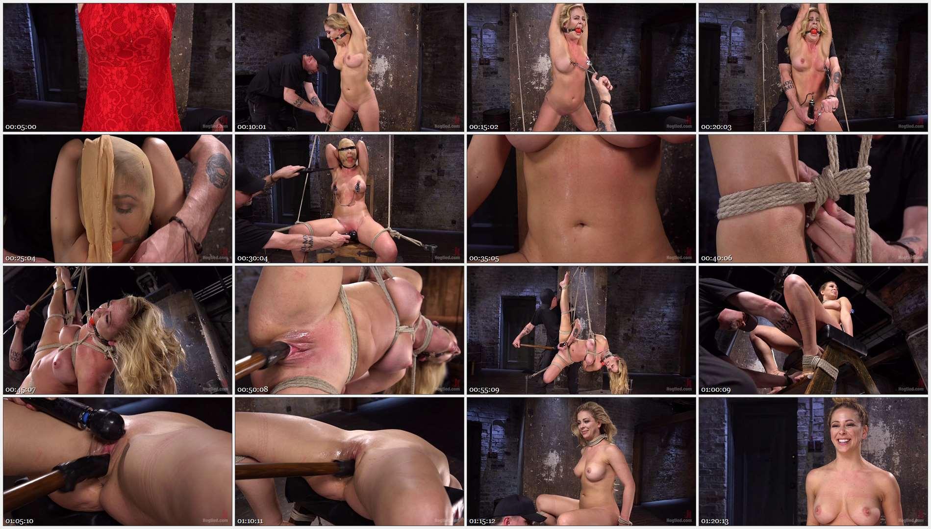 Cherie DeVille – Hot Blonde MILF Suffers Through Grueling Bondage