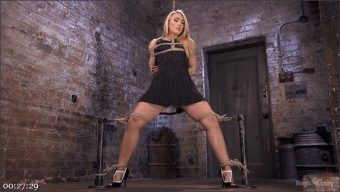 AJ Applegate – The Pope – AJ Applegate Submits To Grueling Bondage and Torment!!!