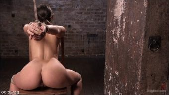 Abella Danger – The Pope – Masochistic Pain Slut in Bondage, Tormented, and Used for Her Holes