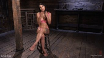 Gina Valentina – The Pope – Tiny Sexual Plaything Gina Valentina Tied and Fucked in Rope Bondage!