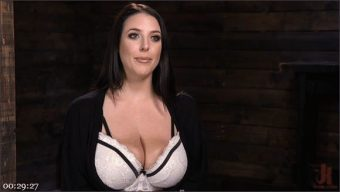 The Pope – Angela White – Angela White's First Time in Brutal Bondage and Tormented