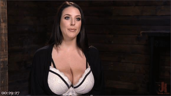 The Pope – Angela White – Angela White's First Time in Brutal Bondage and Tormented_cover