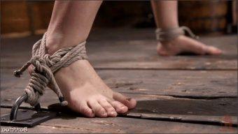 Gabriella Paltrova – Curvy Slut Gabriella Paltrova in Grueling Rope Bondage and Tormented