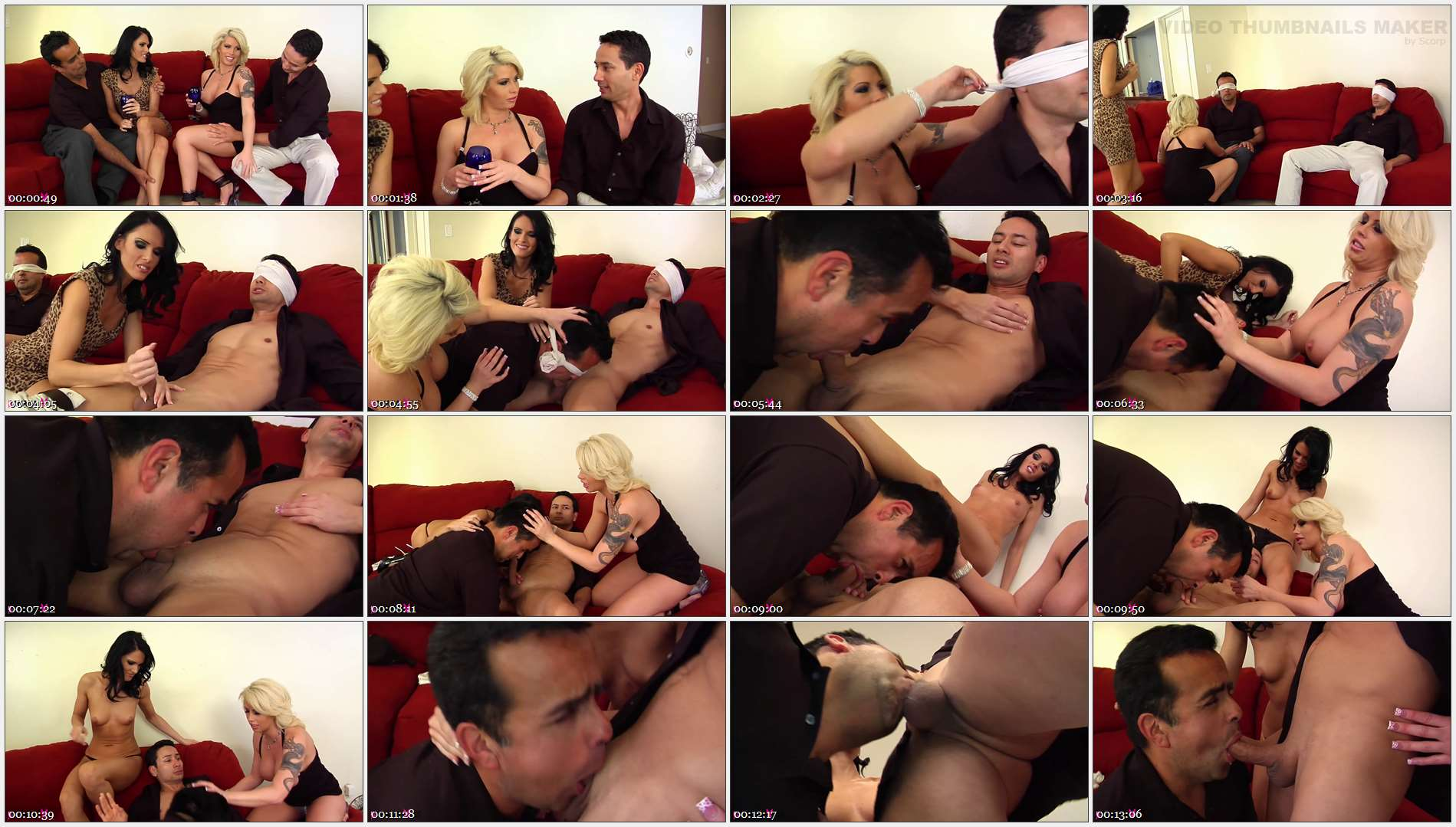 Jennifer Dark – Gabriel Dalessandro – Toe Jam – Brooke Haven – Blindfolded and Tricked to Suck Cock