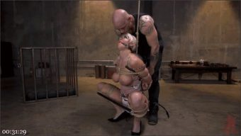 Derrick Pierce – London River – Pain Slut MILF London River Brutalized with Rough Sex and Rope Bondage