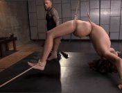 Eddie Jaye – Isabella Nice – Petite Sex Slave Isabella Nice Gagged and Fucked in Tight Rope Bondage