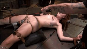 Mr. Pete – Megan Winters – Redheaded Girl Next Store Megan Winters Fucked in Brutal Rope Bondage!