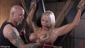Derrick Pierce – London River – MILF Slut London River Anal Fucked In Rope Bondage and Impact Play!