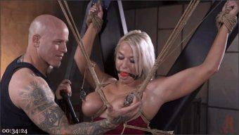 Derrick Pierce – London River – MILF Slut London River Anal Fucked In Rope Bondage and Impact Play!