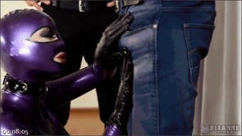Mugur – Juan Lucho – Latex Lucy – Purple Latex Doll