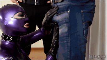 Mugur – Juan Lucho – Latex Lucy – Purple Latex Doll