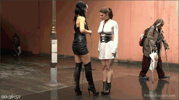 Fetish Liza – Steve Holmes – Conny Dachs – Lucia Love – Disgusting Piss Guzzling Slut Paraded Through Budapest_cover