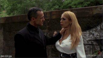 Steve Holmes – Frank Gun – Isabella Clark – Busty Blonde Isabella Clark Public Double Penetration – Part 2