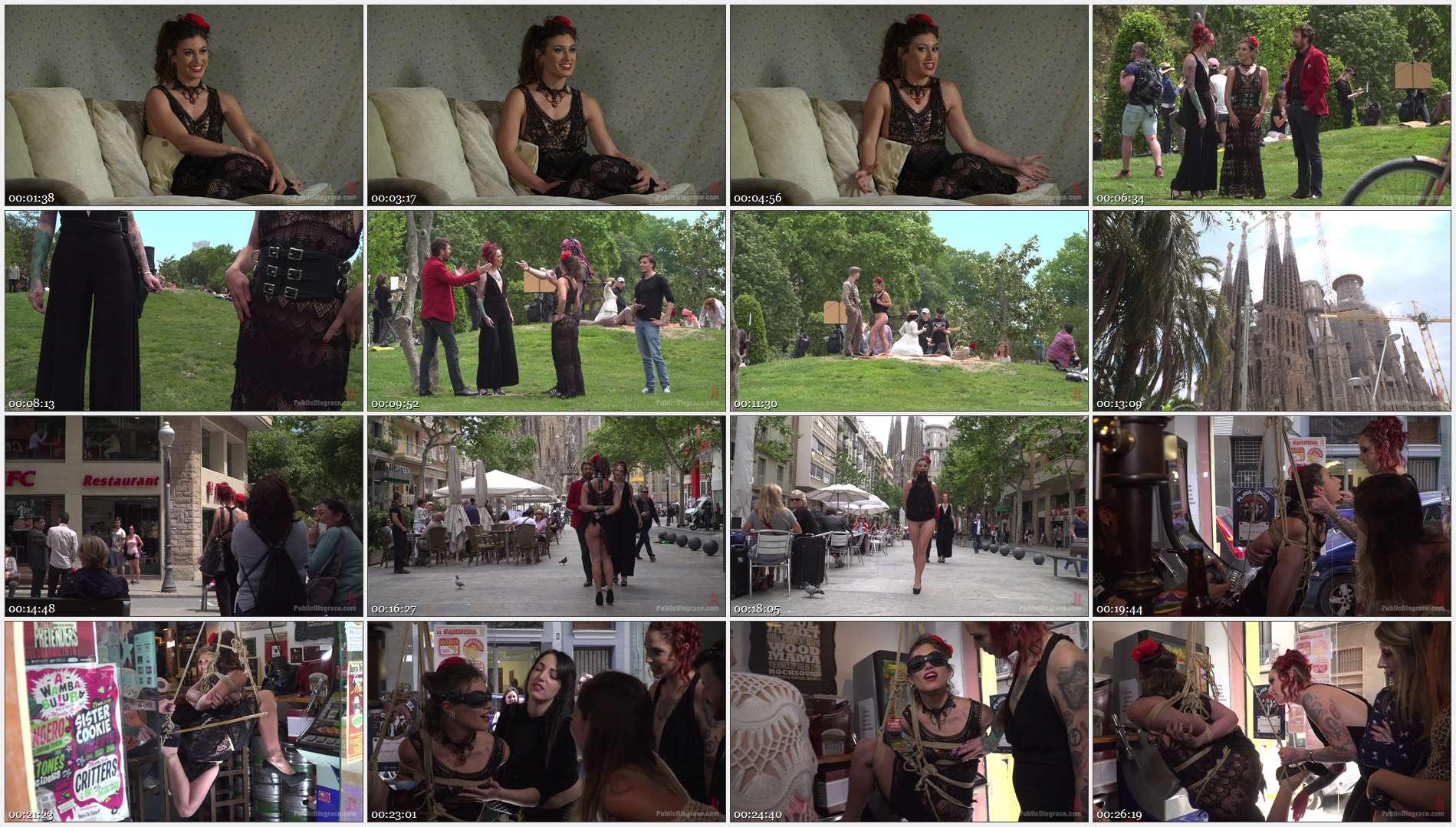 Steve Holmes – Silvia Rubi – Pablo Ferrari – Julia Roca – Shy Pretty Bitch Sings in Pain – Part 1