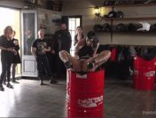 Steve Holmes – Oliver Pina – Melody Petite – Mistress Minerva – Fugitive Biker Bar Gets Serviced! – Part 2