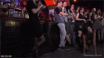 Steve Holmes – Pablo Ferrari – Melody Petite – Frida Sante – Underground Goth Club turns into a Wild Fuck Party!