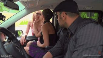 Steve Holmes – Tina Kay – Antonio Ross – Daniela Dadivoso – Gorgeous Anal Whore Gets Public DP!!!