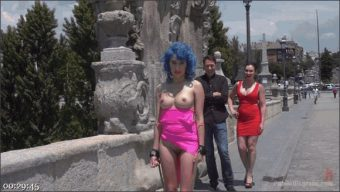 Steve Holmes – Kendo Ortiz – Yasmin Scott – Susy Blue – Cute and Colorful Susy Blue is Begging to be Disgraced in Public.