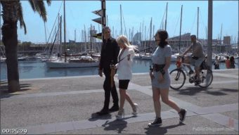 Steve Holmes – Liz Rainbow – Max Cortes – Amber Deen – The Public Fuck Toy of Barcelona