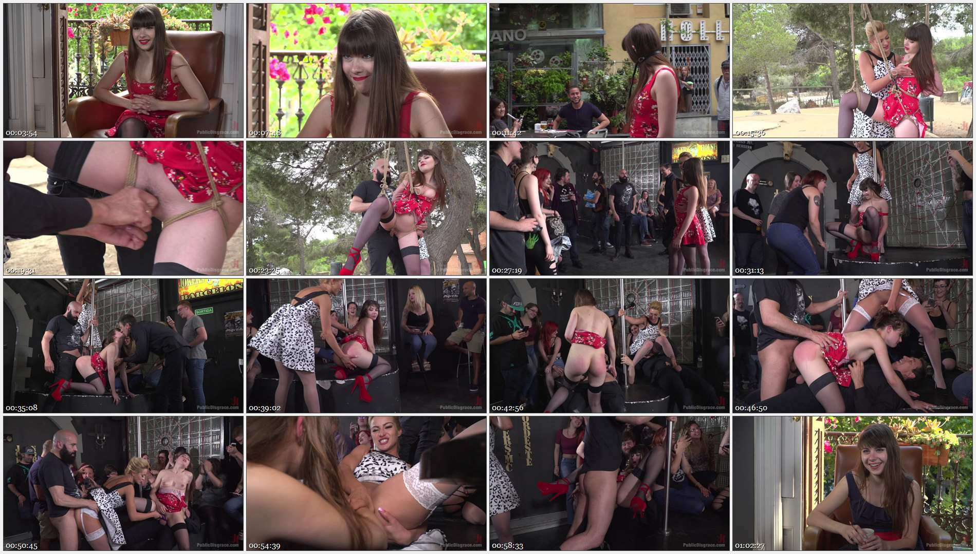 Steve Holmes – Max Cortes – Cherry Kiss – Luna Rival – Perky Young French Brunette Begs For Anal Sex in Public