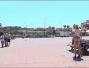 Steve Holmes – Antonio Ross – Tina Kay – Molly Saint Rose – Petite Whore Molly Saint Rose Fucked and Humiliated in Public Plaza!!